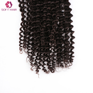 hot sale kinky curl human hair virgin remy human packaging for bulk kinky curly peruvian hair bundles
