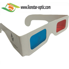 Factory in China Wholesale Brand for 3D Books /Movies Red Cyan Glasses Paper 3D Glasses