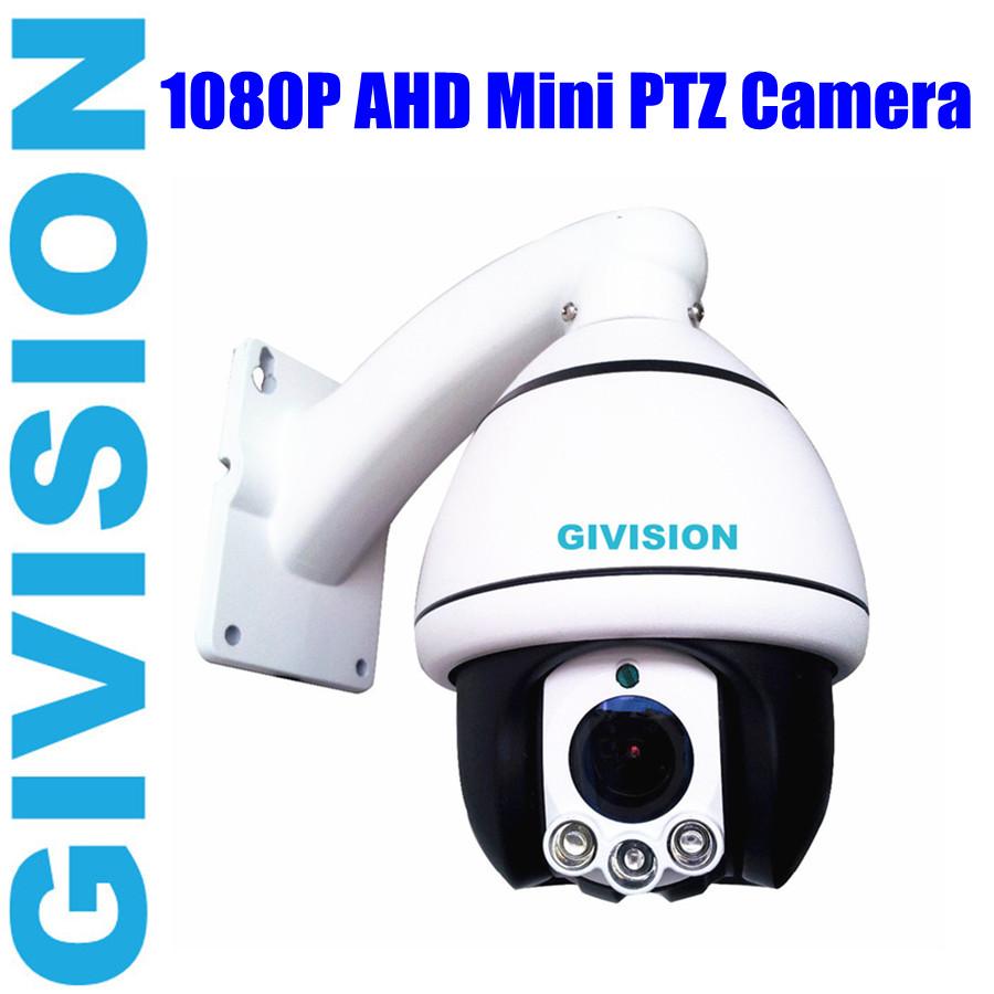 2mp security ahd mini speed dome camera 1080p pan tilt 10x zoom system analog hd ptz ir video. Black Bedroom Furniture Sets. Home Design Ideas