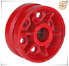 V groove cast iron caster wheel with factory price