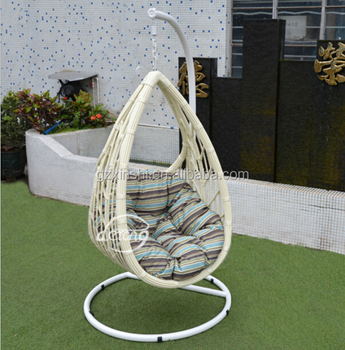 New Design Onion Shape Rattan Hanging Chair