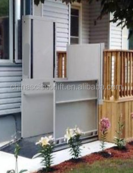 low cost outdoor elevator lifts or wheelchair lift elevator villa