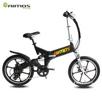 2016 new 20 inch three wheel electric bicycle folding electric bike with led ligh