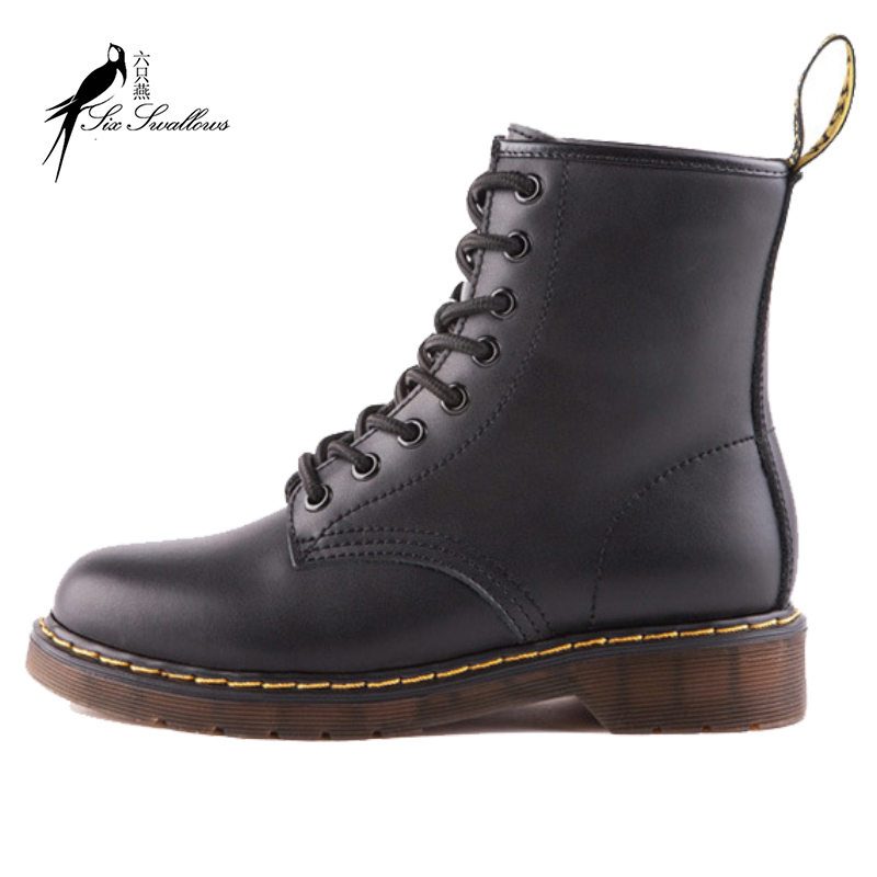 1d5945fdc18e New Cowhide leather boots plus size high quality martin boots dr round toe  ankle punk motorcycle