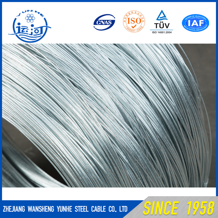 2.4X3.0mm High Tensile Galvanized Oval wire for Oval fence wire
