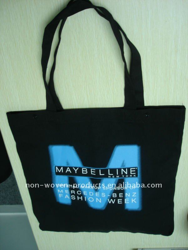 2012 NEW 8 OZ BLACK canvas Promotion bag