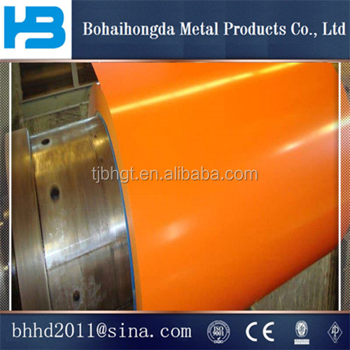 2016 PPGI / Color Coated Galvanized Steel Coil from TIANJIN, CHINA, for all ral colours