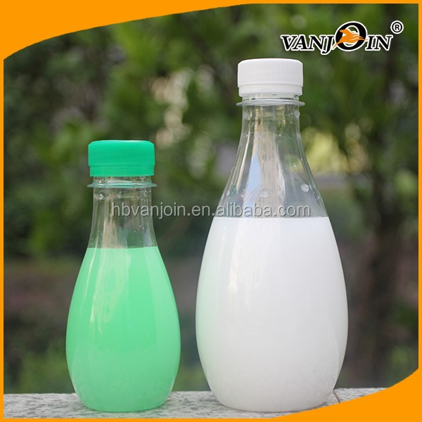 Hot Selling 400ML Clear Pear Shaped Plastic Mineral Water Bottle for Soda Water