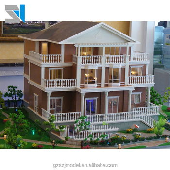 3d Building Model With Architectural Model Materials For Model Making,  Guangzhou Builder