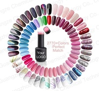 OEM Private Label 2770 Colors Nails Polish Colour UV Gel With Free Sample