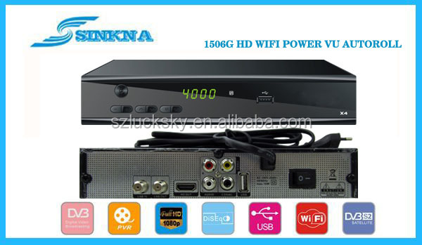 digital satellite receiver HD WIFI IKS & UTUBE Power VU Auto roll & IPTV