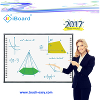 2017 presentation interactive whiteboard/digital smart board for education equipment