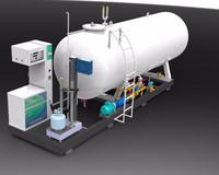 Reasonable Price Lpa220 Lpg Gas Filling Stations - Buy Lpg Gas ...