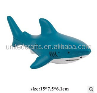 anti stress ball in various color PU shark