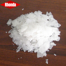Export Rayon Alkali Food Grade Sodium Hydroxide Flakes 99% 98% Flake Caustic Soda 96%