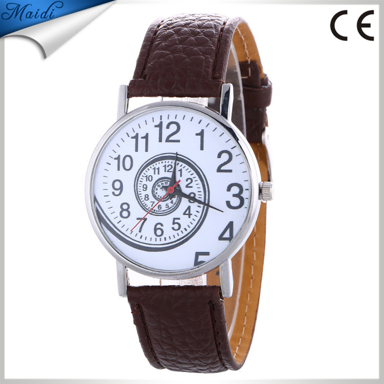Fashion Math Watch Funny Numbers Women Men Dress Casual Analog Quartz Leather Wrist Watch LW067