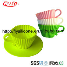 Pas cher Fantastique Diverses Couleurs FDA Aprrtoved Silicone <span class=keywords><strong>Cupcake</strong></span> <span class=keywords><strong>Transporteur</strong></span>