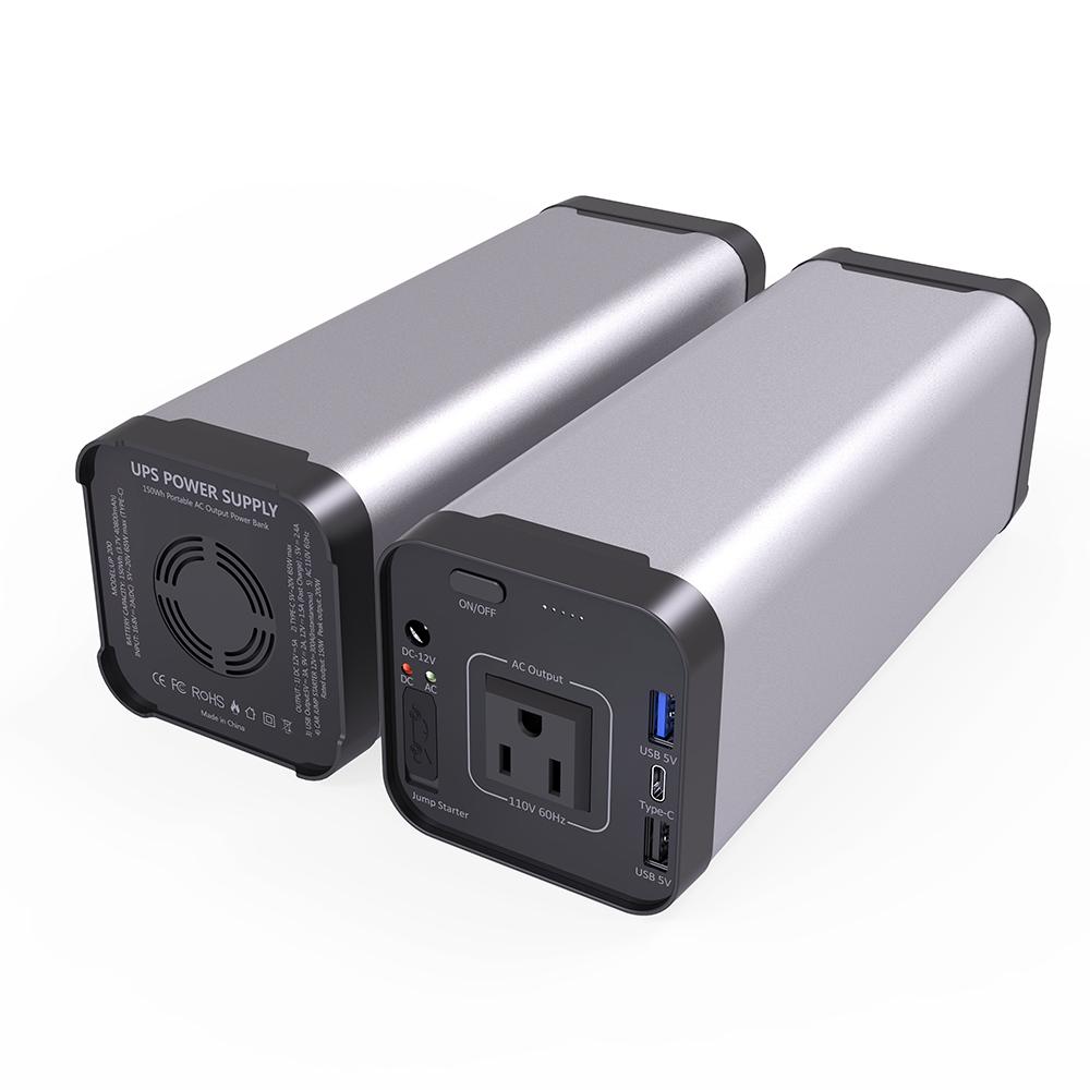 40000mAh ac sortie ups dc sortie centrale électrique portable 12v 10Ah