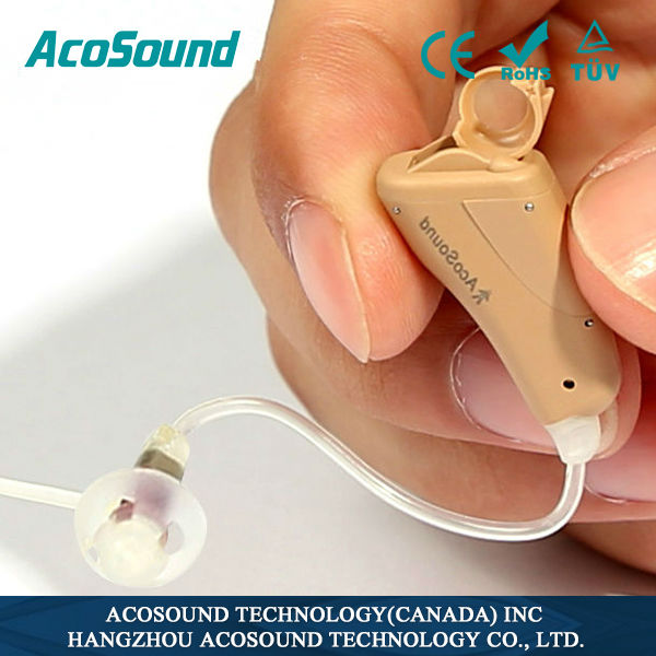 Acomate 821 RIC China factory supplies Deaf Hearing Aid OEM hearing machine price