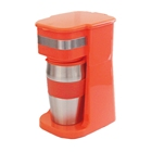 Colorful one cup single cup coffee maker easy to go