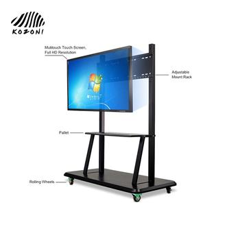 Smart Board 4k Interactive Flat Panel Touch Screen For School All In One Interactive LED Display Interactive Screen  | H Series
