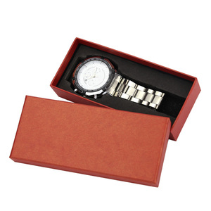 ready goods black long paper gift watch boxes with eva foam