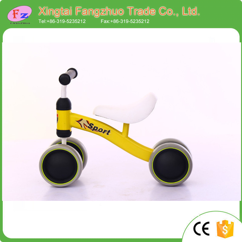 4 wheel kids balance bike / baby balance bike/baby toy bike