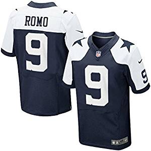 01c058079 Get Quotations · Dallas Cowboys Romo Nike Elite Authentic Throwback Jersey  100 % Authentic Nike