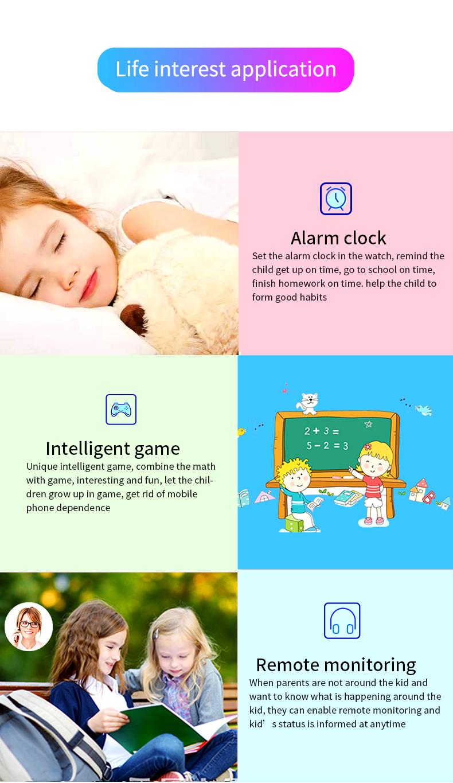 YQT de vestir niño wifi sos gsm inteligente gps tracker niños reloj inteligente para anti-perdida-Q12