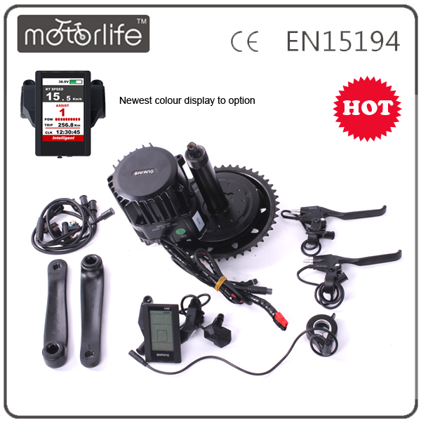 MOTORLIFE SUPPLY 48V 1000W sport electric bike middle drive 8fun motor