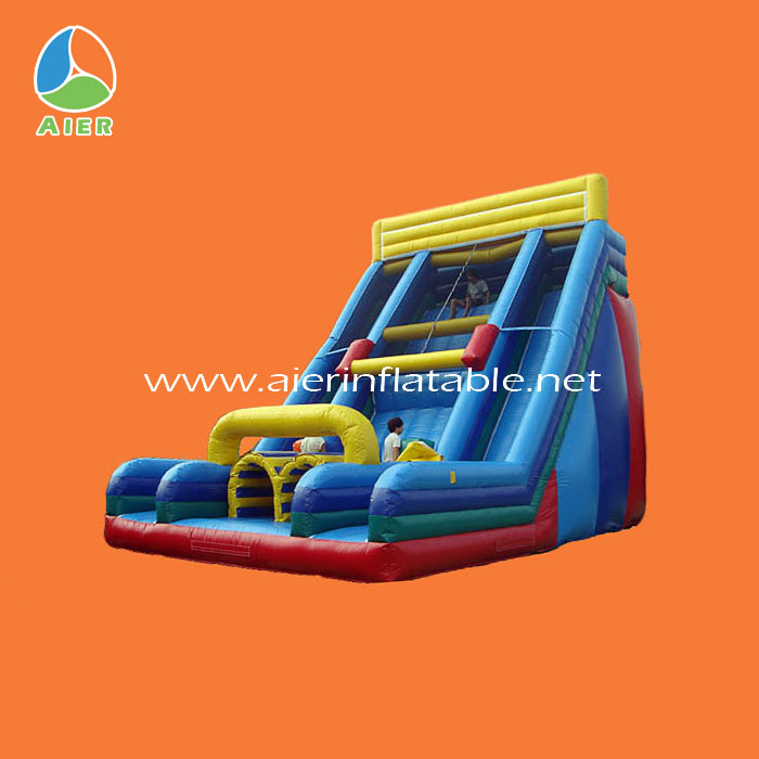 High quality slides inflatables,hippo inflatable water slides