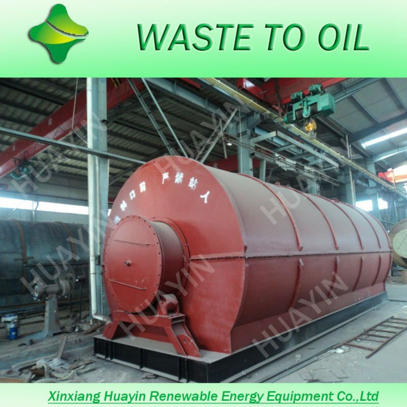 plastic pp scrap to oil machine, waste plastics retread plants with 380V voltage request