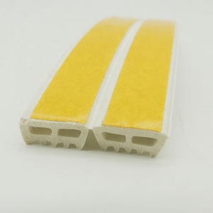 EPDM E profile weather strip self-adhesive foam seal for wooden door and window