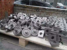 precision casting wheels used in continuous pusher type furnace
