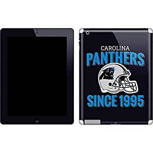 NFL Carolina Panthers iPad 2 Skin - Carolina Panthers Helmet Vinyl Decal Skin For Your iPad 2