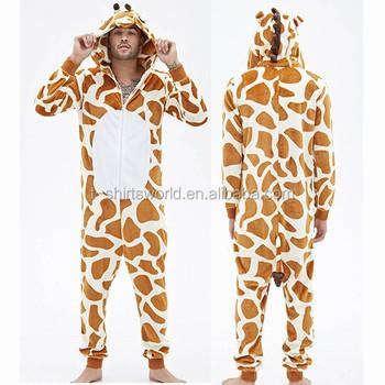 Жирафа Животных Взрослых Комбинезон Пижамы - Buy Взрослых Комбинезон ... 643f80d54a791