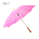 new product ideas black plastic tips 62 inch oversize pink long handle golf umbrella custom logo