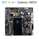 XCY Sales Intel Celeron 1007U processor Ubuntu galaxy note 2 motherboard Ram slot 1.6Ghz gamer pc with Fanless