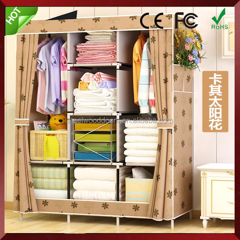 armario porttil de lona organizador ropa de prendas de vestir de tela armario de de