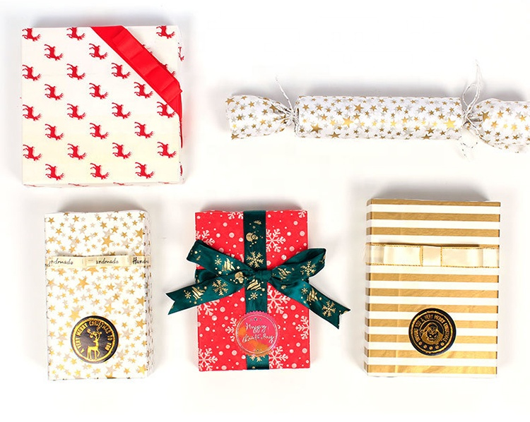 Different Design Biodegradable Gift <strong>Tissue</strong> <strong>Christmas</strong> Packaging <strong>Paper</strong>