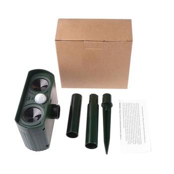 Amazon Best Sell Pir Motion Sensor Ultrasonic Outdoor Animal Pest Solar  Animal Repeller - Buy Solar Animal Repeller,Animal Repellent Outdoor,Solar