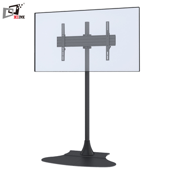 Universal single screen metal tv bracket tv monitor stand - Vertical sliding tv mount ...