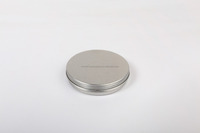 30g small metal tin round box container with free samples