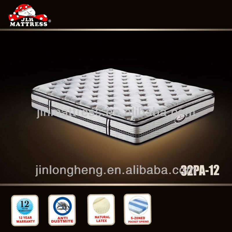 Luxury bellarest mattress from china mattress factory 32PA-12