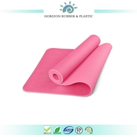 Extra thick 1/4 inch two color /layer/tones lightweight,durable,latex-free,TPE yoga mat