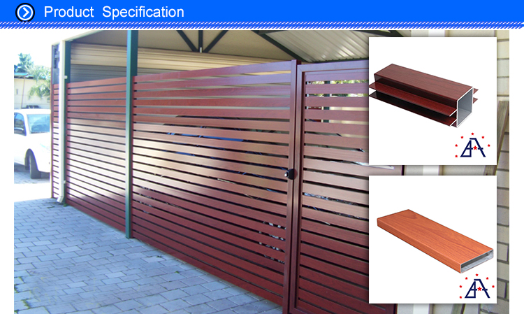HOT Sale Competitive Price Aluminum Alloy Fence for garden