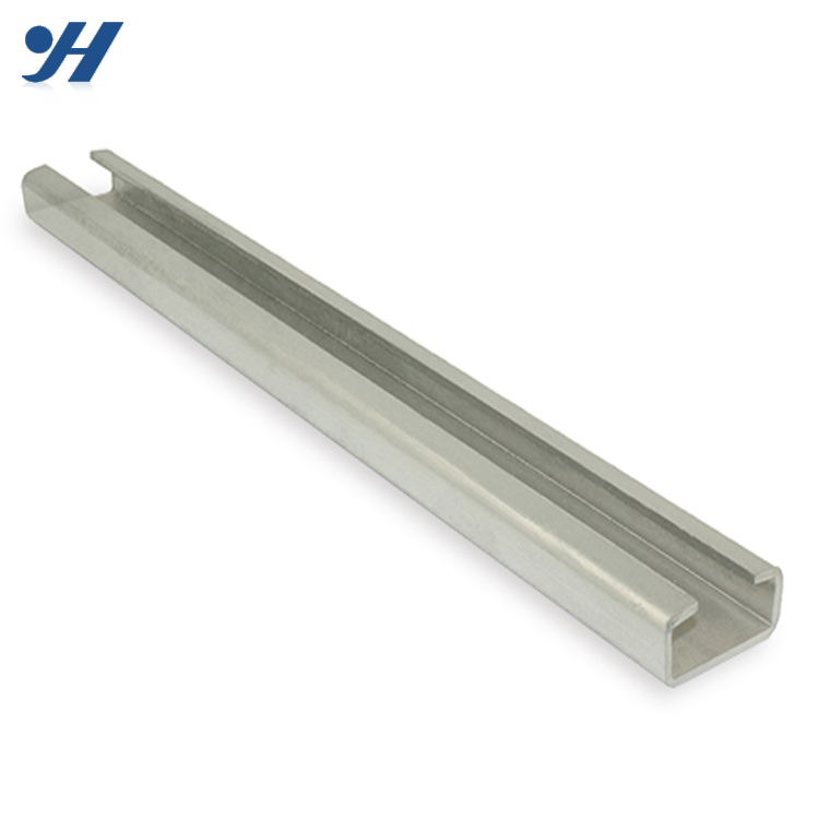 Cold Formed Steel Profile C Channel Hot Dip Galvanized Channel Iron