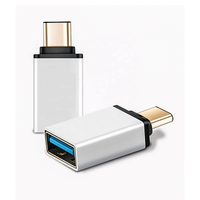 3.1 Type C 10Gbps Male Adaptor to Type A USB 3.0 Female OTG Converter Adapter