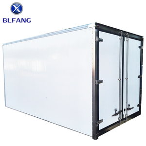 Made in China fresh van for transportation refrigerated truck bodies