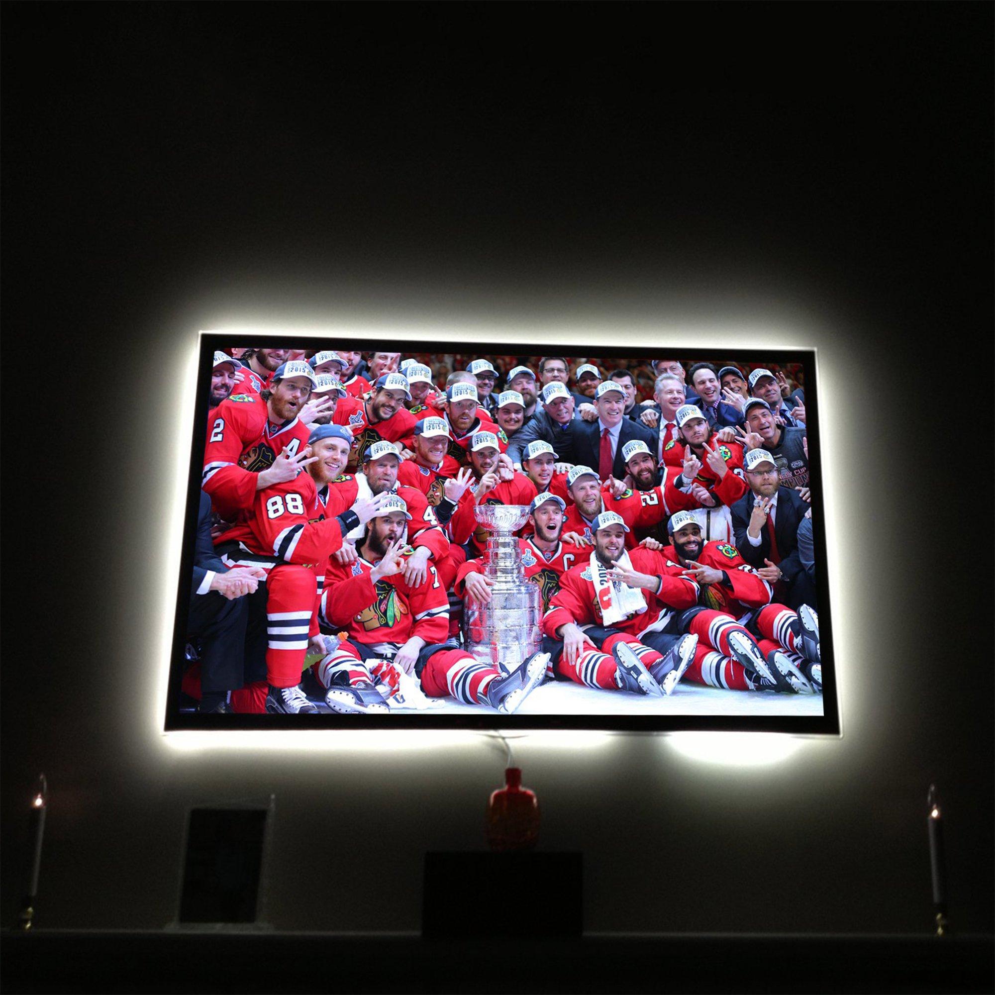 Flat Screen 32 40 43 48 50 55 60 65 70 Inch Tv Background BackLight USB LED Lights Behind TV Backdrop Mood Home Theater Lite Strip
